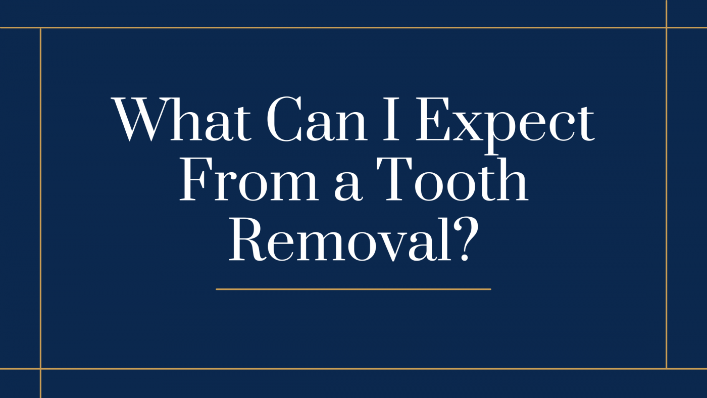What Can I Expect From a Tooth Removal?